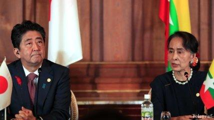 Япония призывает провести международное расследование событий в Мьянме