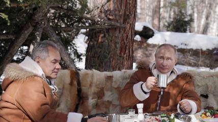 Путин и Шойгу отдыхают вдвоем не впервые