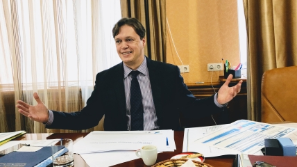 Председатель ФГИУ Дмитрий Сенниченко