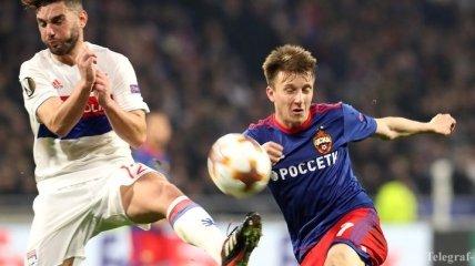 Назван лучший игрок недели в Лиге Европы