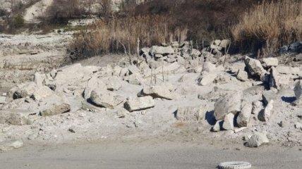 Меньше чем за месяц выкачали воду для военных баз: во что оккупанты превратили Инкерманский карьер (фото)
