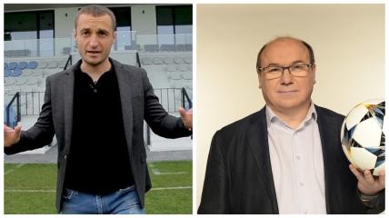 Михаил Кополовец и Виктор Леоненко