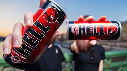 """Энергетический напиток """"Hell"""" может навредить здоровью человека"""