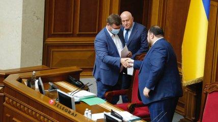 """""""Слуги"""" Стефанчук и Корниенко заняли руководящие посты в Верховной Раде"""