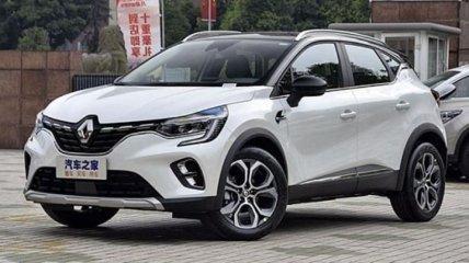 Renault Captur: новая улучшенная версия кроссовера (Фото)