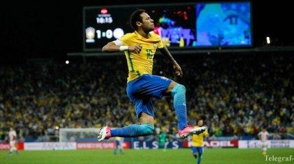Сборная Бразилии разгромила Парагвай и вышла на ЧМ-2018