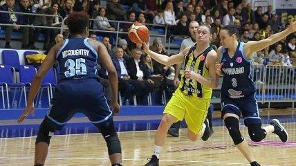 Украинка Ягупова помогла Фенербахче выйти в четвертьфинал Евролиги
