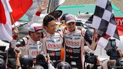 Фернандо Алонсо выиграл заезд в Ле-Мане и стал чемпионом мира