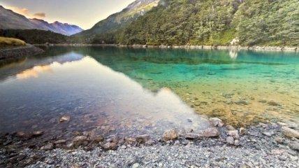 Самое прозрачное в мире озеро (Фотогалерея)