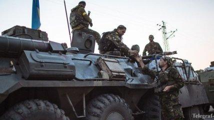 В Донецкой области Нацгвардией уничтожена колонна террористов