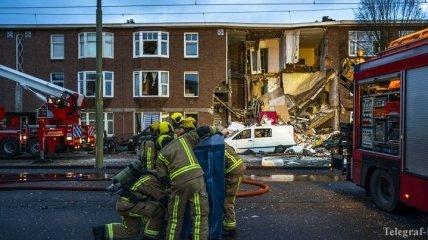 В Гааге произошел взрыв в жилом доме, под обломками могут находится люди