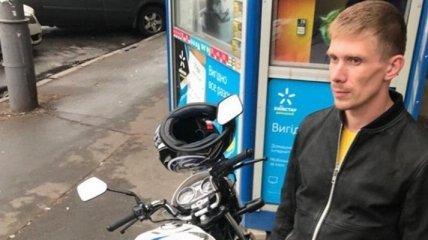 СМИ: В Киеве задержан угонщик мотоцикла брата Найема