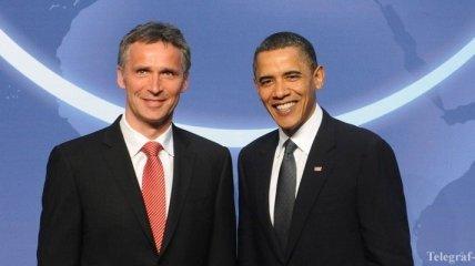 Йенс Столтенберг встретится с Бараком Обамой