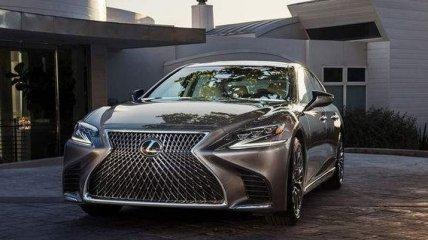 Представлен роскошный дизайн флагмана Lexus нового поколения