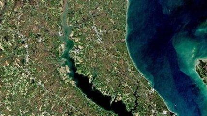 В NASA зафиксировали таинственные бирюзовые образования в Черном море