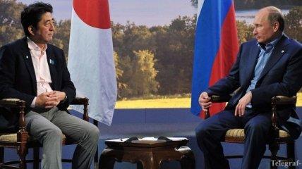 В Японии хотят поговорить с Путиным о Курилах