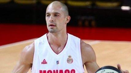 Украинец Гладыр провел первый матч после возвращения в Монако