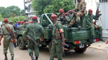 Военные в Гвинее