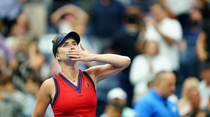 Еліна Світоліна на US Open