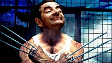 Роуэна Аткинсона изобразили в роли главных героев известных фильмов, и он идеально вписался