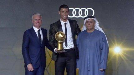 Роналду - лучший футболист 2018 года по версии Globe Soccer Awards