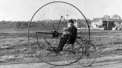Странные велосипеды на исторических снимках (Фото)