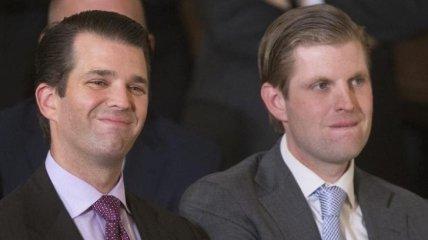Сыновья Трампа устроили рейд по ирландским пабам
