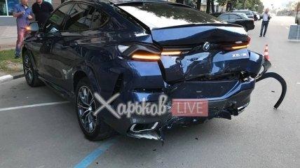 Сын нардепа-миллионера угодил в серьезную аварию с пострадавшими в Харькове (фото и видео)