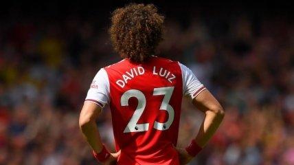 Арсенал может продлить контракт с Давидом Луисом на условиях сокращения зарплаты