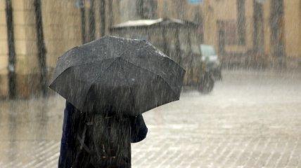 В среду, 13 октября, в Украине прогнозируют ливни