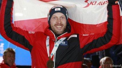 Чемпион мира по биатлону Ландертингер завершил карьеру