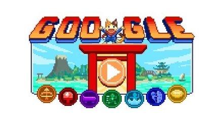 Google посвятил  открытию Олимпийский игр большую дудл-игру (фото, видео)