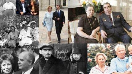 Жены глав СССР и Украины за последние 90 лет (Фотогалерея)