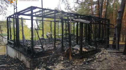В результате возгорания пострадали люди