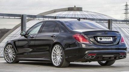 Классный тюнинг Mercedes-Benz S-Class