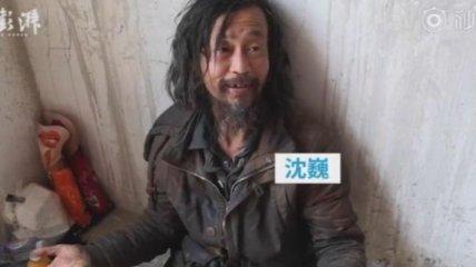 Бездомный китаец стал звездой интернета