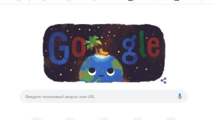 Google выпустил doodle ко Дню летнего солнцестояния