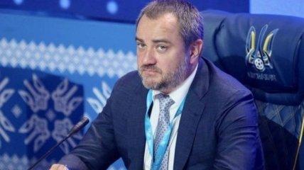 Павелко заплатил ФИФА штраф