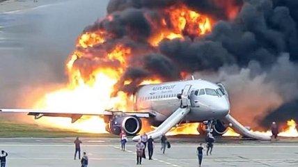 Катастрофа в Шереметьево в мае 2019 года: появилось новое видео горящего лайнера
