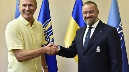 Назначение нового тренера национальной сборной Украины