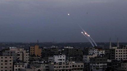В Израиле ответили на пуск трех ракет из сектора Газа