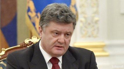Порошенко объявил выговор главе Черкасской ОГА