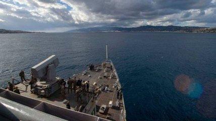 Американский десантный корабль Fort McHenry прибыл в румынский порт Констанца