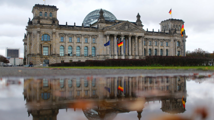 Здание немецкого парламента