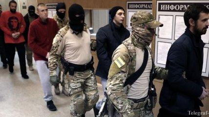 В России не собираются освобождать украинских моряков