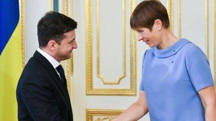 Зеленский в конце месяца встретится с президентом Эстонии