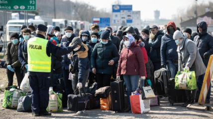 Украинцы активно выезжают со страны