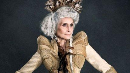 Удивительная 90-летняя модель заслужила награду за свои достижения