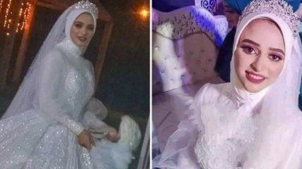 В Египте невеста умерла через час после свадьбы - ее похоронили на следующий день