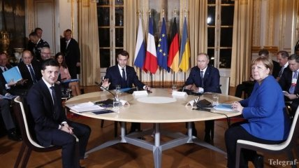 Встреча нормандской четверки в Париже: онлайн-трансляция (Фото, Видео)